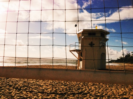 Volleyball and Lighthouses